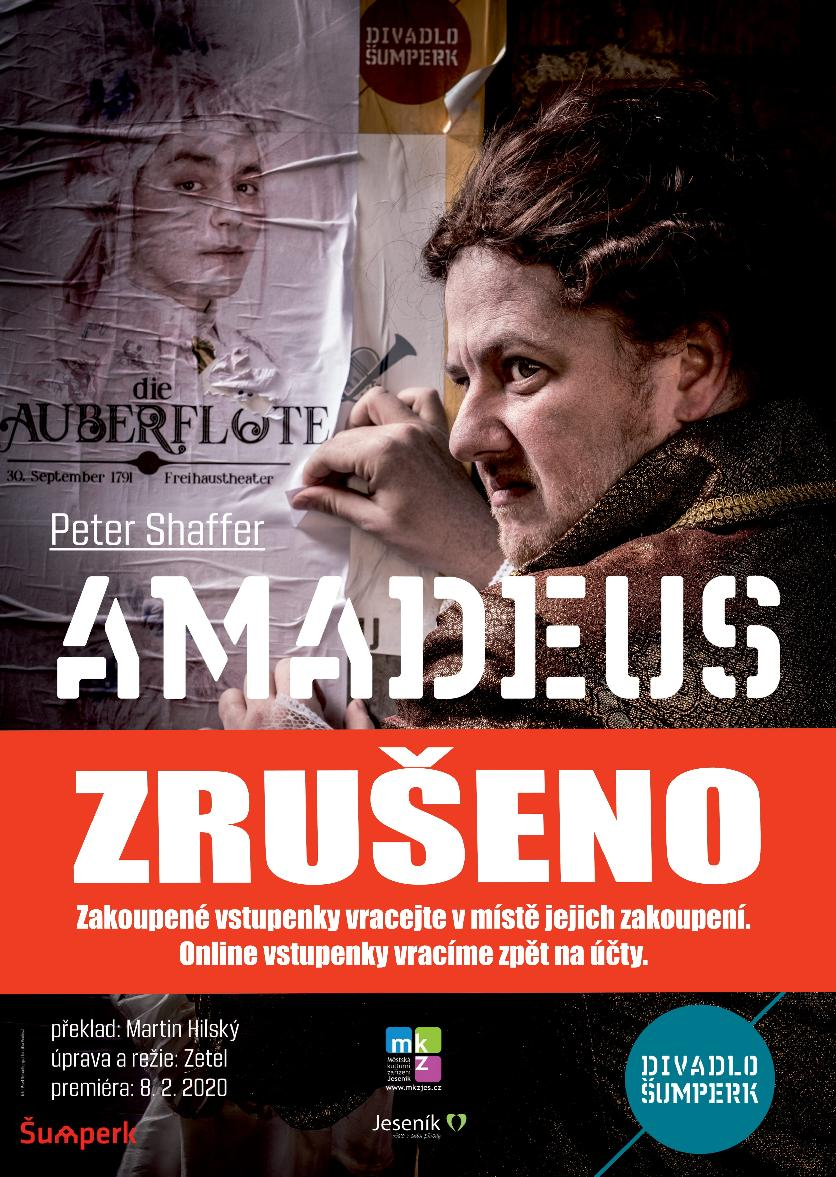 AMADEUS - ZRUŠENO