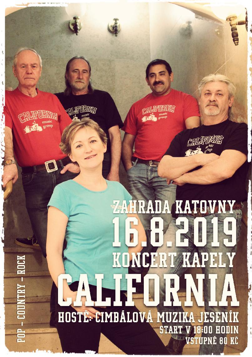KONCERT KAPELY CALIFORNIA