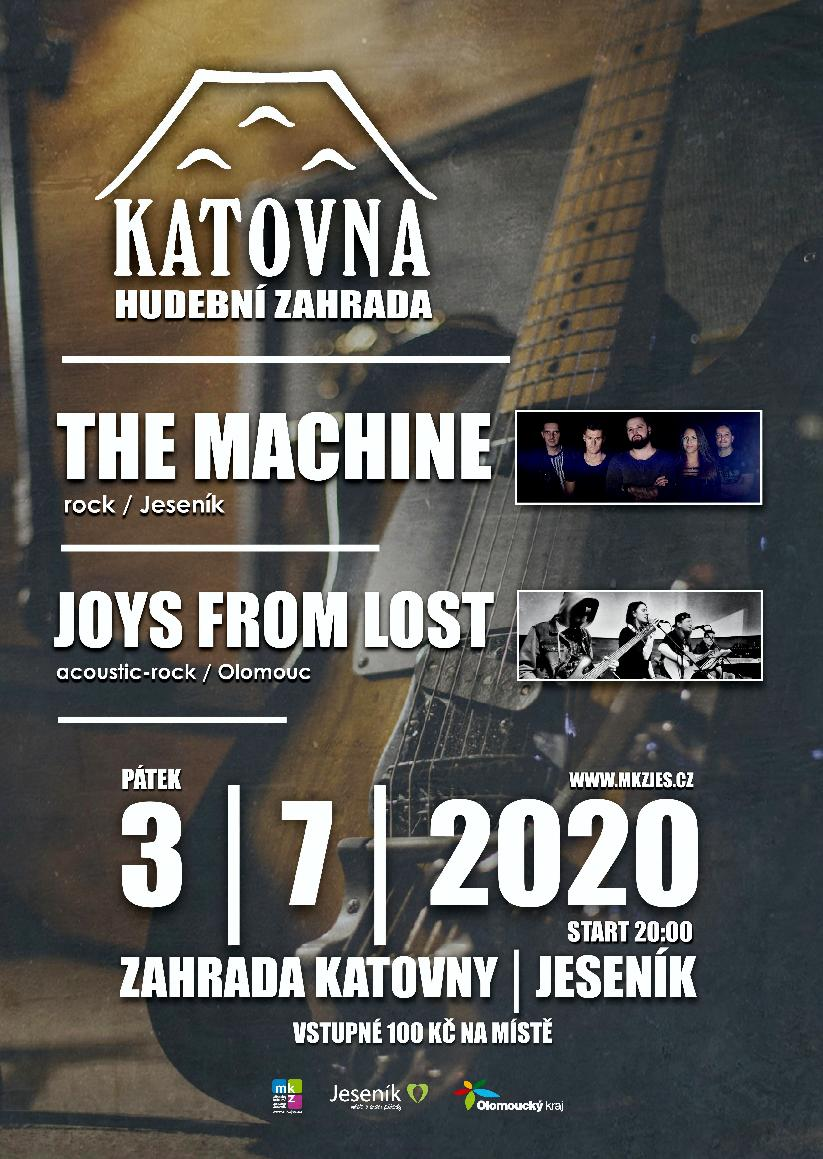 THE MACHINE + JOYS FROM LOST