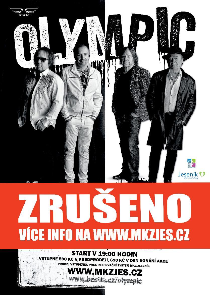 OLYMPIC TOUR 2020 - ZRUŠENO