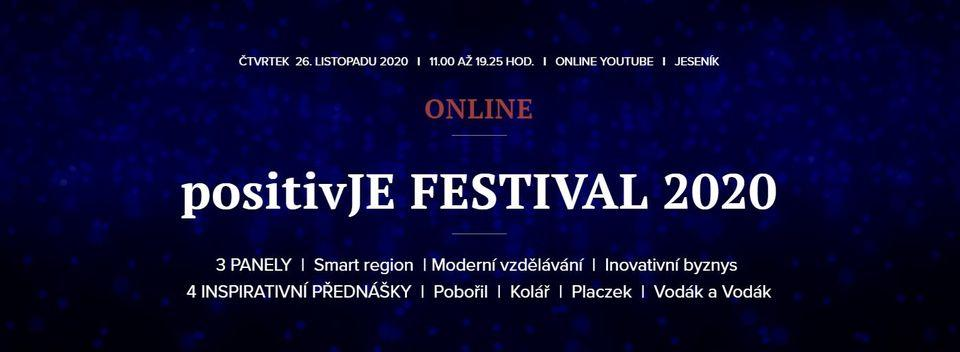 positivJE FESTIVAL 2020 - ONLINE