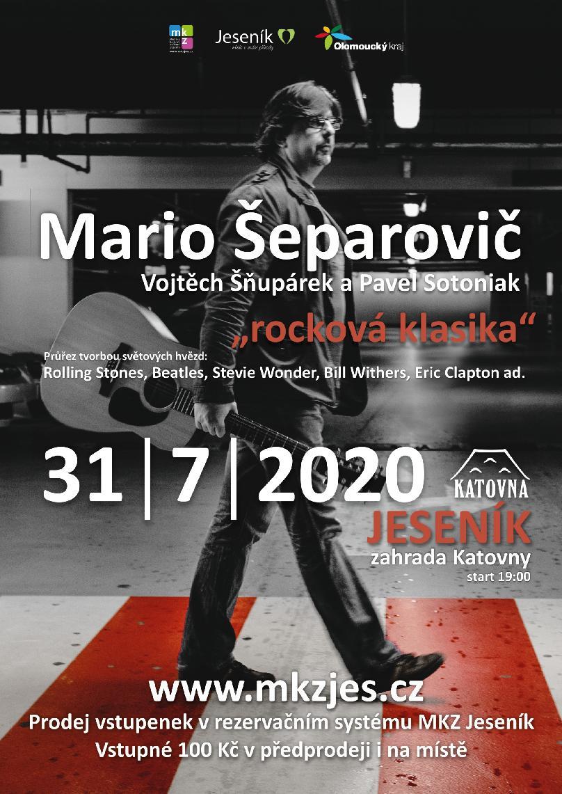 MARIO ŠEPAROVIČ - ROCKOVÁ KLASIKA