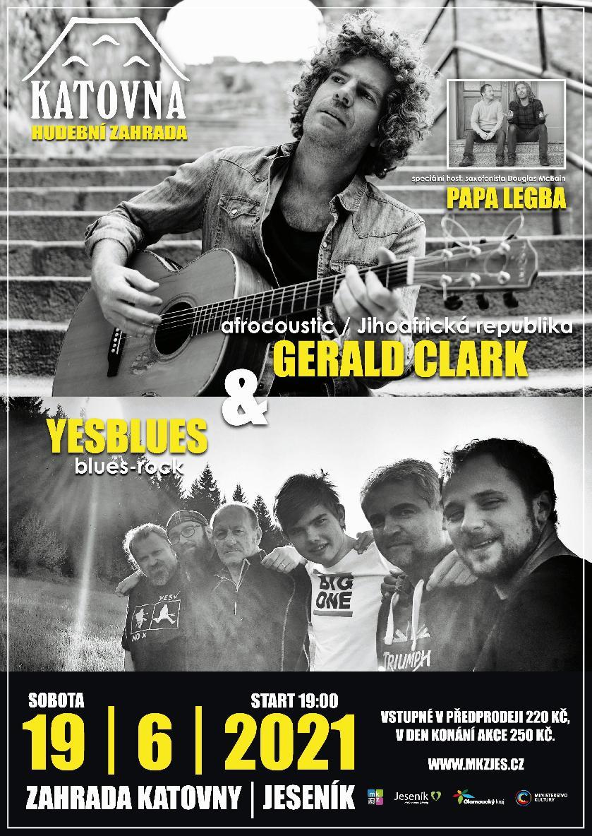 GERALD CLARK & YESBLUES