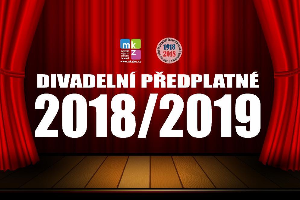 DIVADELNÍ PŘEDPLATNÉ 2018/2019